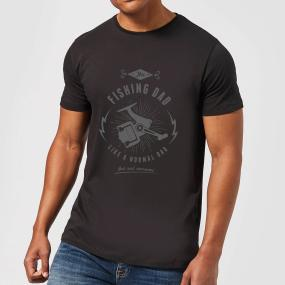 Fishing Dad Men's T-Shirt - Black - M - Black