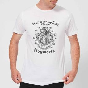 Harry Potter Waiting For My Letter From Hogwarts Men's T-Shirt - White - XL - White