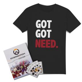 Overwatch: Ultimate Sticker Collector Bundle - Women's - L - Black